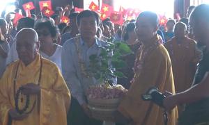 Lễ rước cây bồ đề do Chủ tịch Quốc hội Sri Lanka tặng