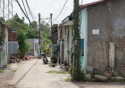 Gần 1.800 căn nhà xây không phép tại khu vực dự án Ga đường sắt Đà Nẵng: Ảnh: X. Kiều.