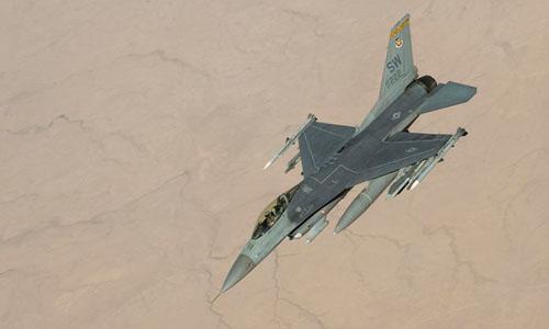 Tiêm kích F-16 của Không quân Mỹ. Ảnh: Không quân Mỹ.