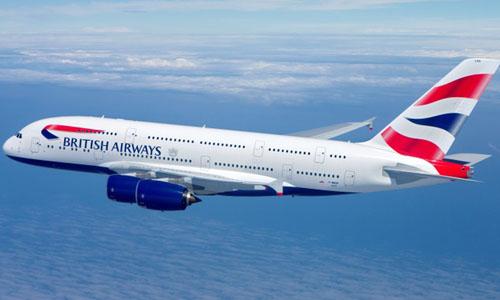 Một máy bay của hãng hàng British Airways. Ảnh: British Airways.