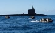 Diễn tập đổ bộ tấn công từ tàu ngầm hạt nhân Mỹ trong RIMPAC 2018