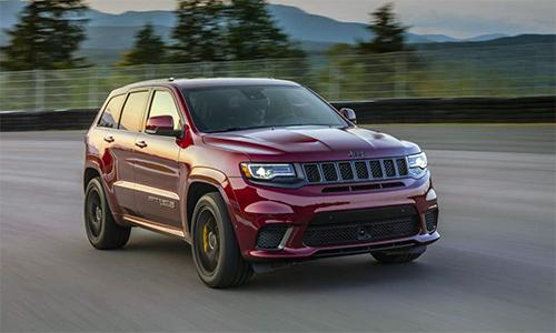 Doanh số Grand Cherokee bán được 109.313 xe, giảm 6,1 % so với cùng kỳ 2017.