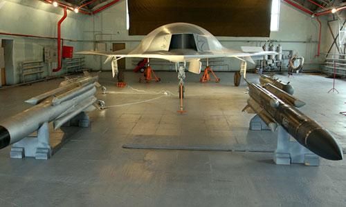 Hình ảnh một mẫu UAV hạng nặng do Sukhoi phát triển được rò rỉ trên mạng năm 2017. Ảnh: Sputnik.