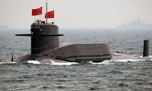 Tàu ngầm Trung Quốc tham gia diễn tập năm 2012. Ảnh: USNI.