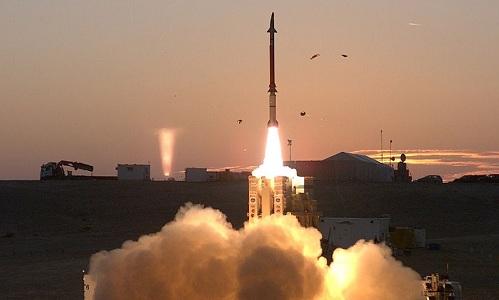 Hệ thống phòng thủ tên lửa tầm trung Davids Sling của Israel. Ảnh: Wikipedia.