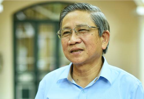 Nguyên đại biểu quốc hội Nguyễn Minh Thuyết. Ảnh: Giang Huy.
