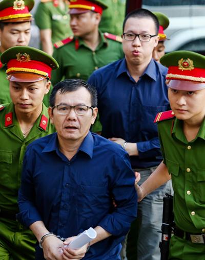 Các bị cáo là đồng phạm của Phạm Công Danh. Ảnh: Thành Nguyễn.
