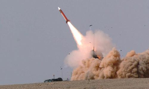 Tên lửa Patriot của Israel khai hỏa trong một đợt tập trận năm 2016. Ảnh: IDF.