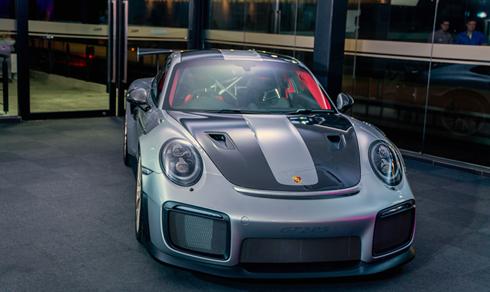 Porsche 911 GT2 RS ra mắt lần đầu tại lễ hội tốc độ ở Anh hồi tháng 7năm ngoái.