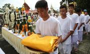 Đội bóng nhí Thái Lan sắp xuống tóc đi tu