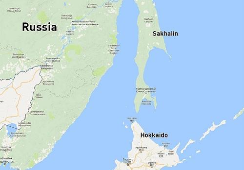 Vị trí đảo Sakhalin, Viễn Đông Nga. Đồ họa: RT.
