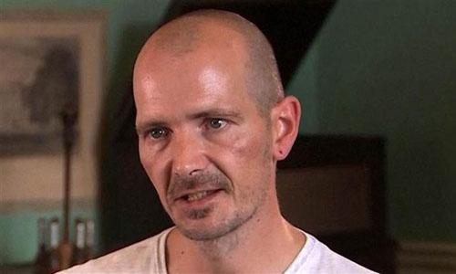 Charlie Rowley trong buổi phỏng vấn hôm qua. Ảnh: ITV News.