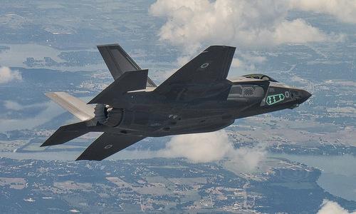 Tiêm kích F-35I hoạt động trên bầu trời Israel đầu năm 2018. Ảnh: IAF.