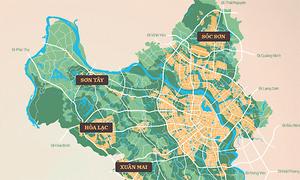 Kỳ vọng chùm đô thị vệ tinh bao quanh Hà Nội