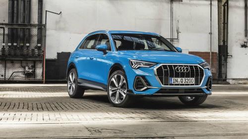 Audi Q3 2019 lần đầu lộ diện.