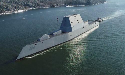 USS Michael Monsoor trở về cảng sau chuyến thử nghiệm tháng 1/2018. Ảnh: US Navy.
