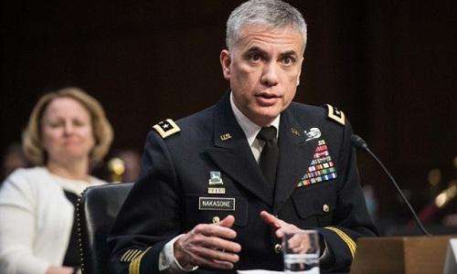 Giám đốc Cơ quan An ninh Quốc gia (NSA) kiêm chỉ huy Bộ tư lệnh Không gian mạng Mỹ Paul Nakasone. Ảnh: AFP.