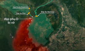 Quy mô của đập thủy điện một tỷ đô vừa bị vỡ tại Lào