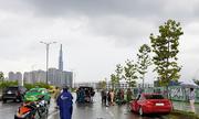 Ôtô BMW tông cô gái ở Sài Gòn tử vong