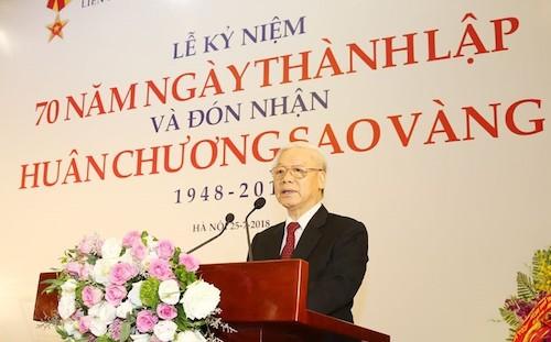Tổng bí thư Nguyễn Phú Trọng. Ảnh: Trần Hoàng.