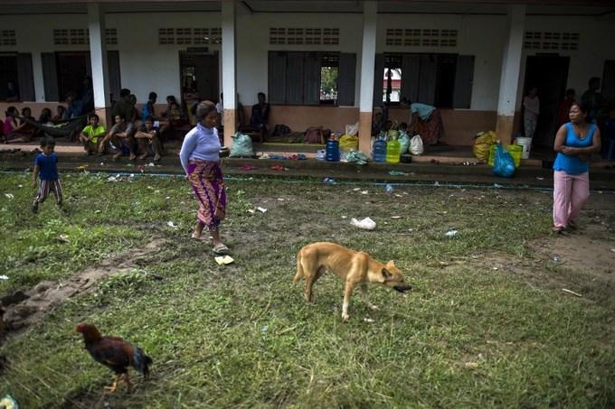 Tình cảnh lay lắt của người dân Lào sau vụ vỡ đập