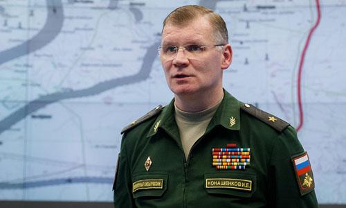 Thiếu tướng Igor Konashenkov, phát ngôn viên Bộ Quốc phòng Nga. Ảnh: Ministry of defence of the Russian Federation.