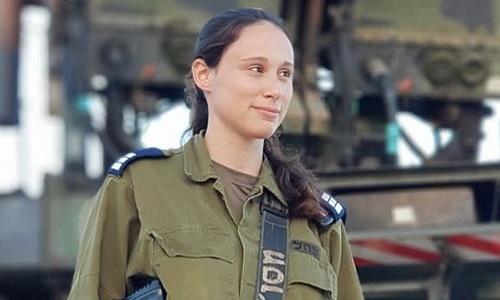 Nữ đại úy Or Naaman. Ảnh: Jerusalem Post.