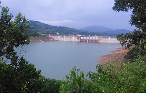 Thủy điện Sông Tranh 2 thuộc huyện Bắc Trà My - nơi xảy ra động đất. Ảnh: Đắc Thành.