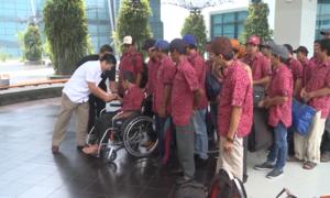 Indonesia trao trả 42 ngư dân Việt Nam về nước