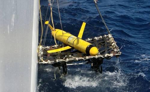 Tàu lặn Mỹ bị Trung Quốc bắt giữ hồi cuối năm 2016. Ảnh: USNI.