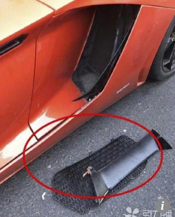 Bộ phận thông gió cho xe bị hỏng, chi phí sửa chữa ước tính 66.200 USD. Ảnh: SCMP.