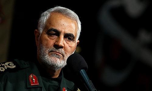 Tướng Qassem Soleimani, chỉ huy lực lượng đặc nhiệm Quds của Iran. Ảnh:Haaretz.