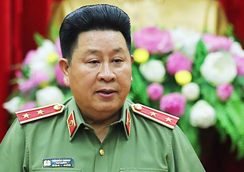 Trung tướng Bùi Văn Thành. Ảnh: Ngọc Thành.