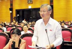 Ông Hồ Văn Năm phát biểu trong một lần thảo luận tại Quốc hội. Ảnh:Quochoi.vn