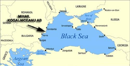 Vị trí căn cứ không quân Mihail Kogalniceanu. Đồ họa: World Atlas.