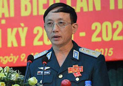 Trung tướng Nguyễn Văn Thanh. Ảnh: HVPKKQ