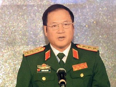 Thượng tướng Phương Minh Hòa. Ảnh: QK2
