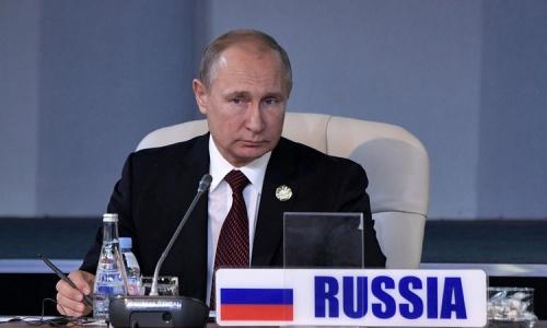 Tổng thống Nga Putin trong cuộc họp hôm nay tại Nam Phi. Ảnh: Reuters.