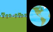 So sánh kích thước của con người với vũ trụ
