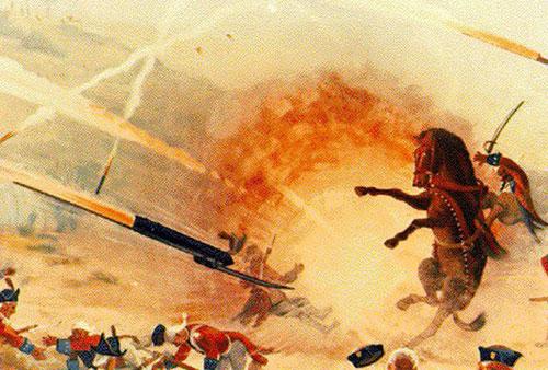 Hỏa tiễn Mysorean từng gieo rắc kinh hoàng cho quân đội thực dân Anh. Ảnh: History.