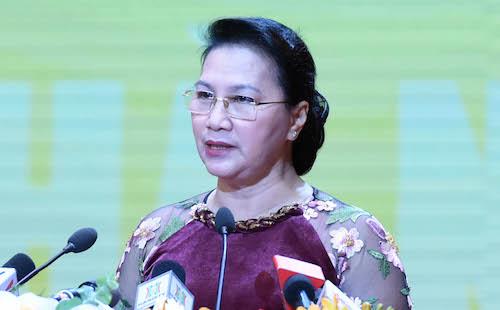 Chủ tịch Quốc hội Nguyễn Thị Kim Ngân. Ảnh: Thanh Hải.