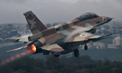 Tiêm kích Israel xuất phát làm nhiệm vụ hồi năm 2017. Ảnh: JPost.