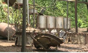 Lò hơi 7.000 lít phát nổ làm sập mái nhà xưởng ở Lào Cai