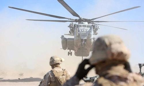 Một trực thăng vận tải CH-53E của Mỹ. Ảnh: Military.