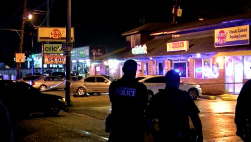 Cảnh sát có mặt ở hiện trường vụ nổ súng tại