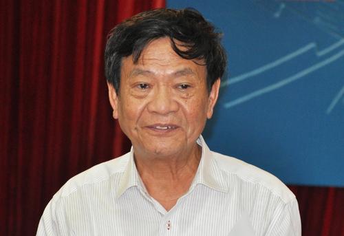 PSG Trịnh Đình Tùng, Tổng thư ký Hội Giáo dục Lịch sử Việt Nam. Ảnh: Viết Tuân.