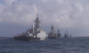 Máy bay, tàu chiến Nga ở Syria phô diễn sức mạnh mừng Ngày Hải quân