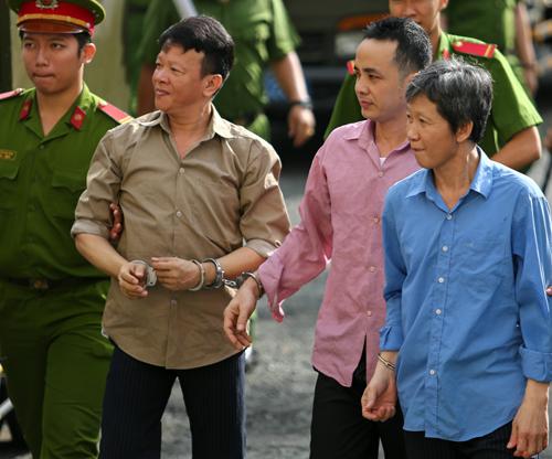 Các bị cáo tại tòa. Ảnh: Thành Nguyễn.