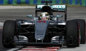 Hamilton chiến thắng tại Grand Prix