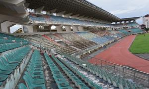 Sân vận động 22.000 chỗ ngồi ở Ninh Bình bị bỏ hoang nhiều năm